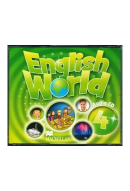 ENGLISH WORLD 4 CLASS AUDIO CD (SET 3 CD)