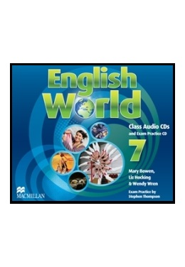 ENGLISH WORLD 7 CLASS AUDIO CDs (SET 3 CD)
