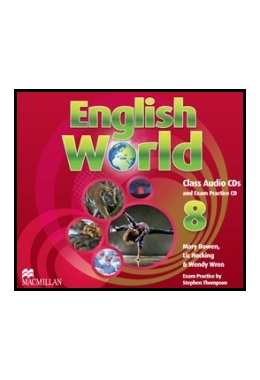 ENGLISH WORLD 8 CLASS AUDIO CDs (SET 3 CD)