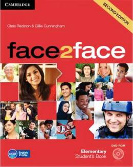 FACE2FACE 2ND ED. ELEMENTARY STUDENT'S BOOK WITH DVD