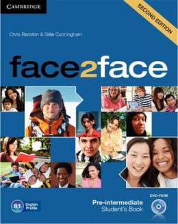 FACE2FACE 2ND ED. PRE-INTERMEDIATE STUDENT'S BOOK WITH DVD