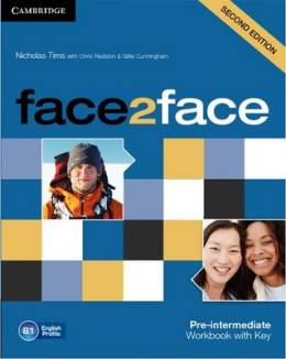 FACE2FACE 2ND ED. PRE-INTERMEDIATE WORKBOOK WITH KEY