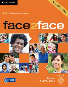 FACE2FACE 2ND ED. STARTER STUDENT'S BOOK WITH DVD