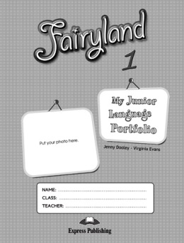 FAIRYLAND 1 MY JUNIOR LANGUAGE PORTFOLIO