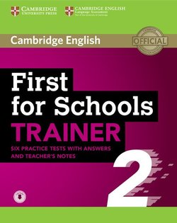 FIRST FOR SCHOOLS TRAINER 2 PACK