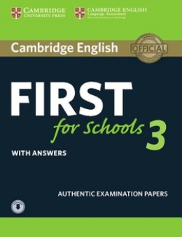 FIRST FOR SCHOOLS 3 SELF-STUDY PACK (REVISED 2015)