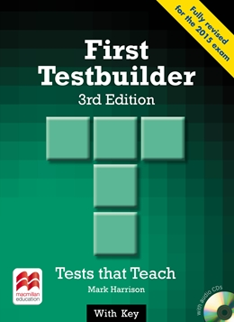 FIRST TESTBUILDER 3RD EDITION WITH KEY & AUDIO CD