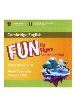 FUN FOR FLYERS 4TH ED. CLASS AUDIO CDs (SET OF 2)