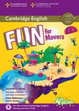 FUN FOR MOVERS 4TH ED. STUDENT'S BOOK PACK