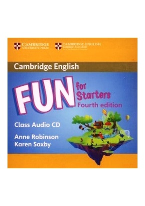 FUN FOR STARTERS 4TH ED. CLASS AUDIO CD