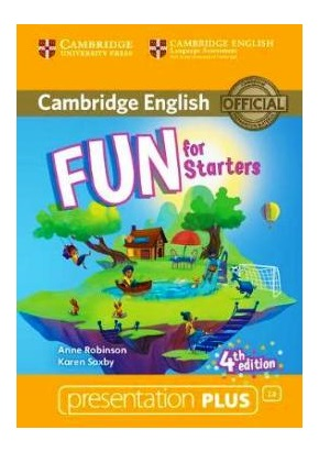 FUN FOR STARTERS 4TH ED. PRESENTATION PLUS DVD-ROM
