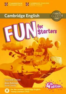 FUN FOR STARTERS 4TH ED. TEACHER'S BOOK PACK