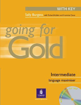 GOING FOR GOLD INTERMEDIATE LANGUAGE MAXIMISER WITH KEY & ACD