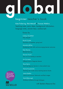 GLOBAL BEGINNER TEACHER'S BOOK PACK