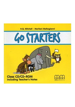GO STARTERS CLASS CD/CD-ROM (SET OF 2) - INCLUD. TEACHER'S NOTES