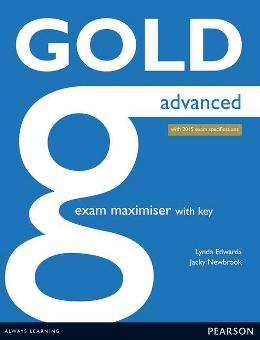 GOLD ADVANCED EXAM MAXIMISER WITH KEY