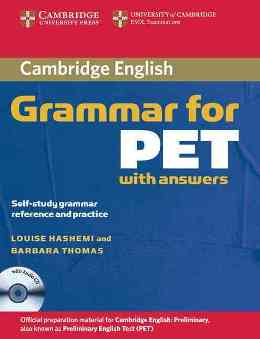 GRAMMAR FOR PET WITH KEY & AUDIO CD
