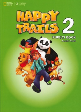 HAPPY TRAILS 2 PUPIL'S BOOK WITH AUDIO CD