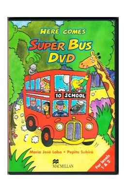 HERE COMES SUPER BUS 1 & 2 DVD