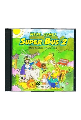 HERE COMES SUPER BUS 2 AUDIO CD (SET 2 CD)