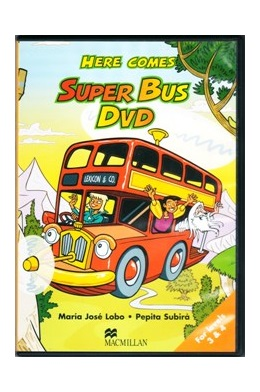 HERE COMES SUPER BUS 3 & 4 DVD