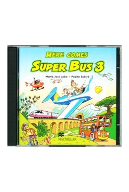 HERE COMES SUPER BUS 3 AUDIO CD (SET 2 CD)