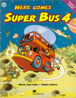 HERE COMES SUPER BUS 4 PUPIL'S BOOK PACK (PUPIL'S B. & ACT. B.)