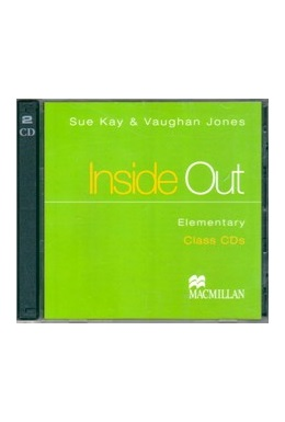 INSIDE OUT ELEMENTARY CLASS CDs (SET 2 CD)