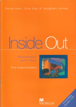 INSIDE OUT PRE-INTERMEDIATE WORKBOOK WITH KEY & AUDIO CD