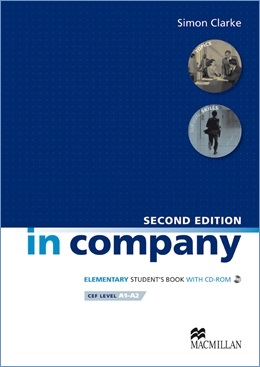IN COMPANY 2ND ED. ELEMENTARY STUDENT'S BOOK WITH CD-ROM
