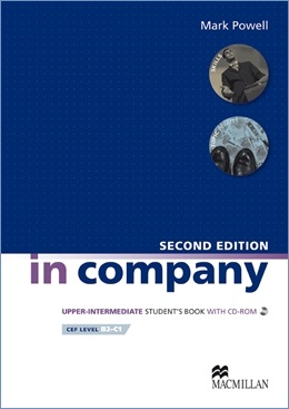 IN COMPANY 2ND ED. UPPER INTERMEDIATE STUDENT'S BOOK WITH CD-ROM