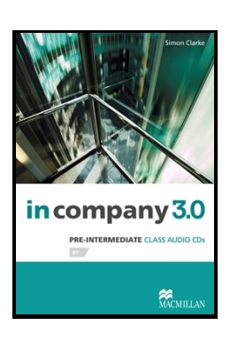 IN COMPANY 3.0 PRE-INTERMEDIATE CLASS AUDIO CDs