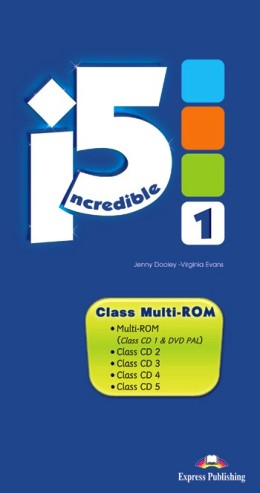 INCREDIBLE 5 LEVEL 1 CLASS MULTI-ROM