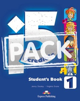 INCREDIBLE 5 LEVEL 1 STUDENT'S BOOK PACK (S'S WITH IEBOOK)