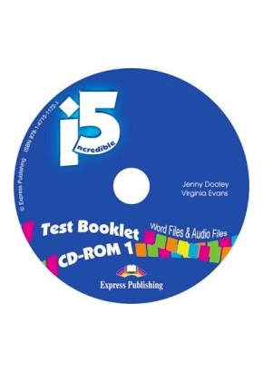 INCREDIBLE 5 LEVEL 1 TEST BOOKLET CD-ROM