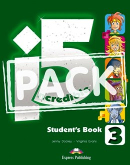 INCREDIBLE 5 LEVEL 3 STUDENT'S BOOK PACK (S'S WITH IEBOOK)