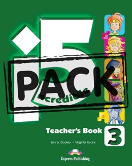 INCREDIBLE 5 LEVEL 3 TEACHER'S BOOK PACK (T'S WITH POSTERS)