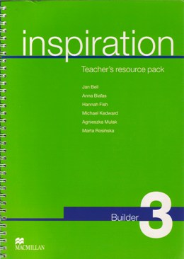 INSPIRATION 3 BUILDER (TEACHER'S RESOURCE PACK)