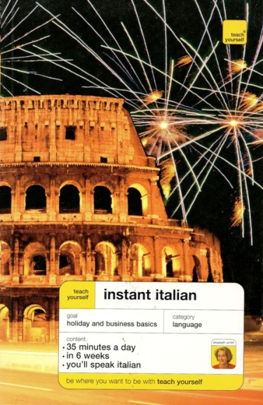 TEACH YOURSELF INSTANT ITALIAN