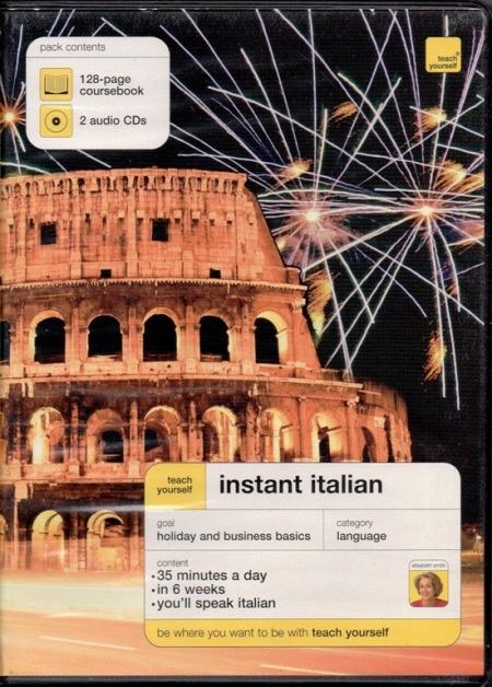 TEACH YOURSELF INSTANT ITALIAN PACK