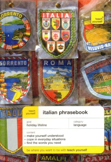 TEACH YOURSELF ITALIAN PHRASEBOOK