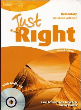 JUST RIGHT ELE. 2ND ED. WORKBOOK WITH KEY & AUDIO CD