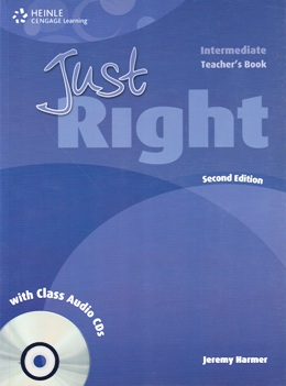 JUST RIGHT INTER. 2ND ED. TEACHER'S BOOK WITH CLASS AUDIO CDs