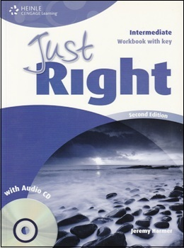 JUST RIGHT INTER. 2ND ED. WORKBOOK WITH KEY & AUDIO CD