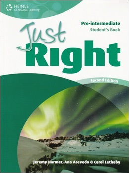 JUST RIGHT PRE-INT. 2ND ED. STUDENT'S BOOK