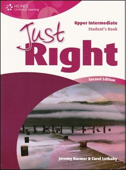 JUST RIGHT UPP-INT. 2ND ED. STUDENT'S BOOK