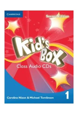 KID'S BOX 2ND EDITION 1 CLASS AUDIO CDs (SET 4 CD)