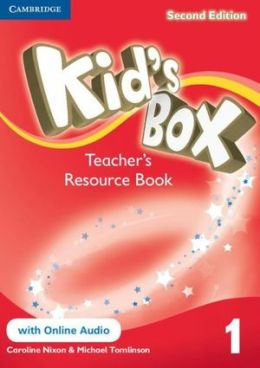 KID'S BOX 2ND EDITION 1 TEACHER'S RES. BOOK WITH ONLINE AUDIO