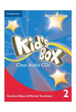 KID'S BOX 2ND EDITION 2 CLASS AUDIO CDs (SET 4 CD)