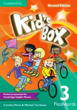 KID'S BOX 2ND EDITION 3 FLASHCARDS